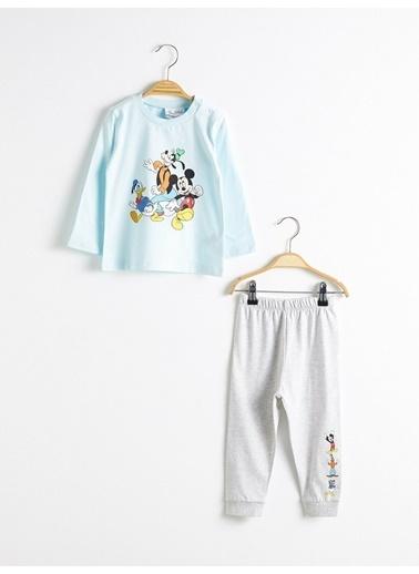 LC Waikiki Pijama Takım Turkuaz